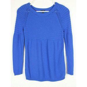 Talbots Sweater Heringbone Knit Pullover Tunic
